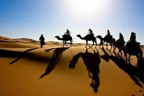 Berber Nomad Camp in the Desert + Activities