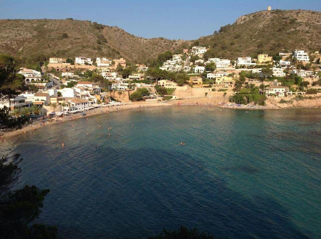 2 min.walk to EL Portet beach. - Moraira