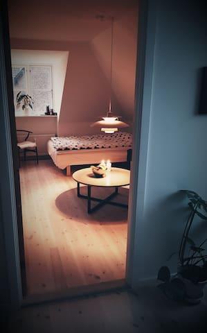 Lyst rum 17 m2. (10 min fra hovedbanegård)