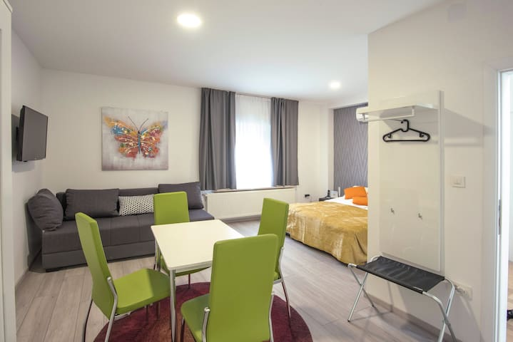Tommy apartments(Zagreb Airport 1.4km)Free parking
