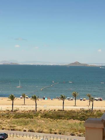Apartamento primera linea playa - Playa Paraíso, La Manga, Cartagena
