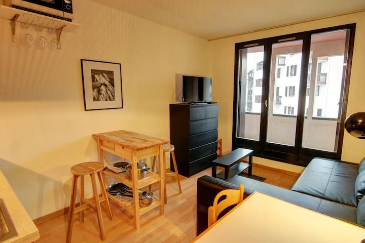 Central Chamonix Studio E apartment