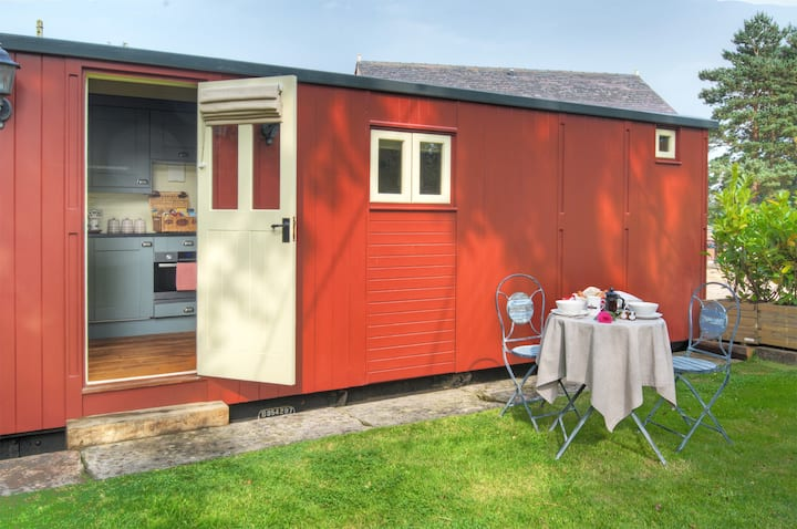 Quirky & Stylish Railway Carriage for 2