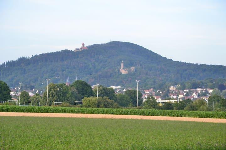 Schöne Wohnung in Weinheim.5min Fußweg zum Miramar