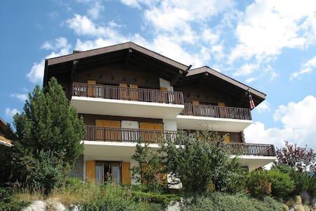 Superior apartment with splendid view - Veysonnaz
