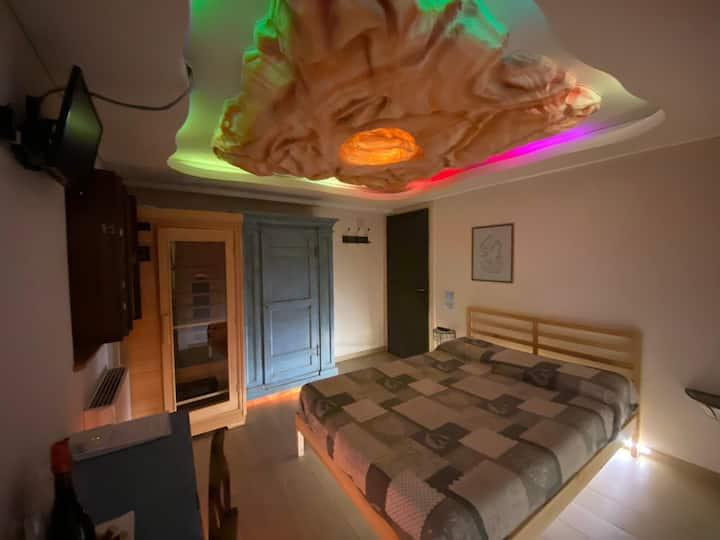 King Room with Private Sauna( Podere Raffanna )