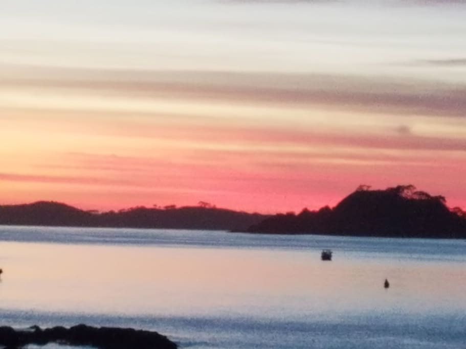 Sunrise in the Bay of Islands