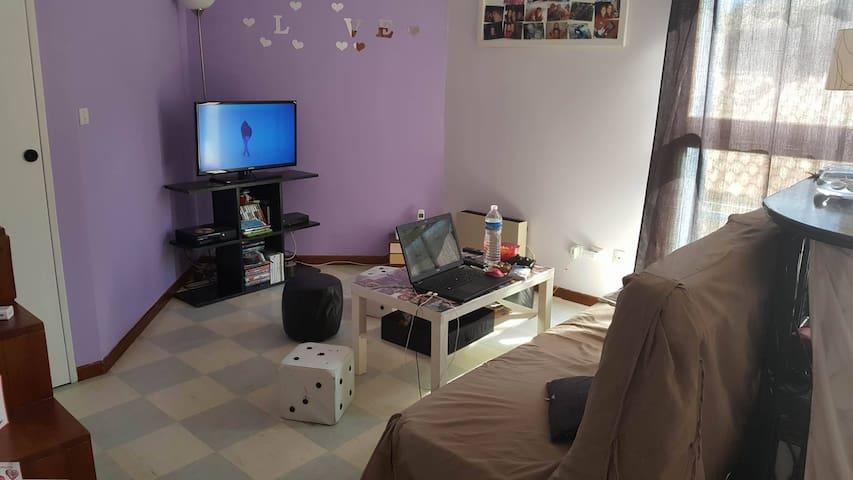 Une chambre privée en provence mazan mont ventoux - Mazan - Lejlighed