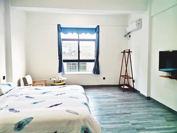 【大花角心舍】豪华大床房,最美沿海观光公路附近,出租长租优惠