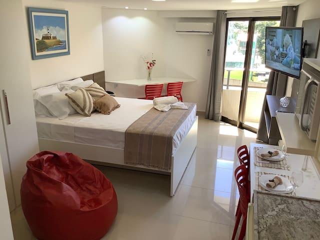 GoldFlat Beira Mar Cabo Branco Conforto da Família