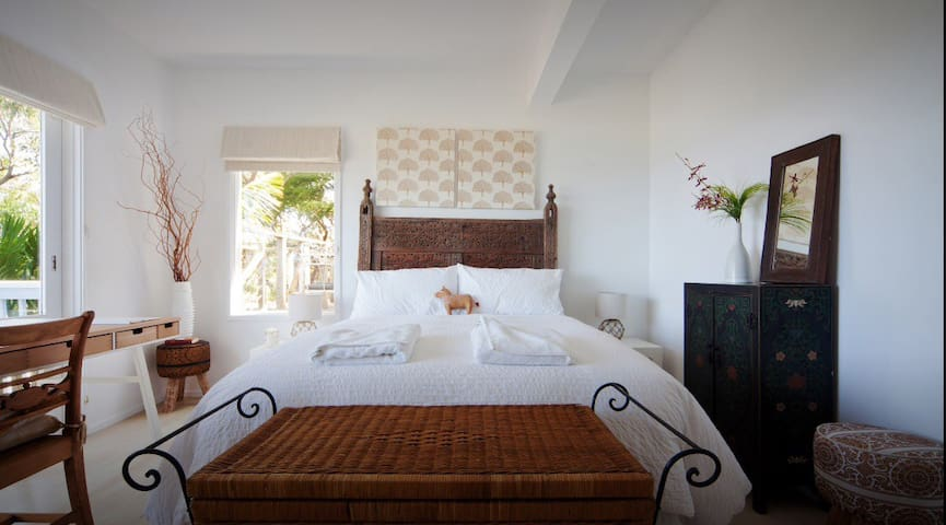 Beautiful bedroom in the self-contained space