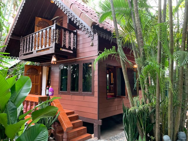 Beautiful traditional Thai house