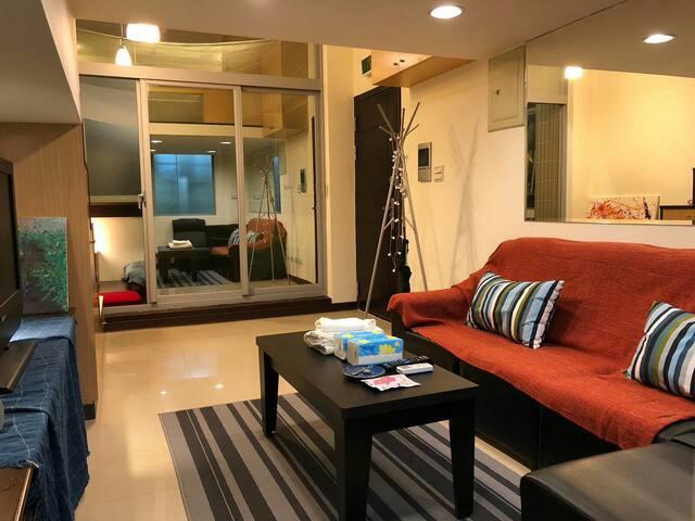 2~4人房SOHO TAIPEI- MRT 5mins!台北精華地段,松菸誠品/東區商圈/信義計畫區