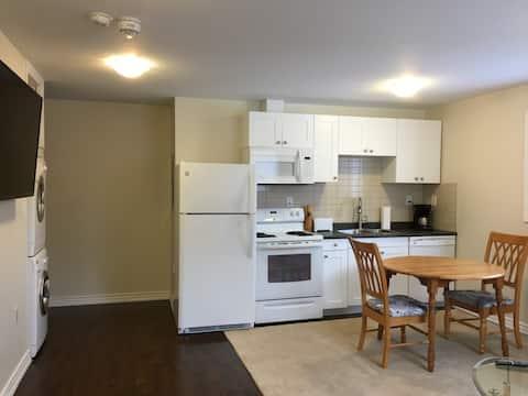 Couchiching apartment