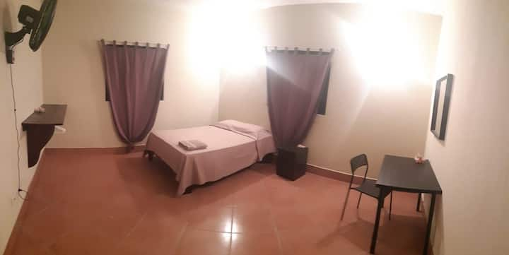 Comfortable double room near to beach