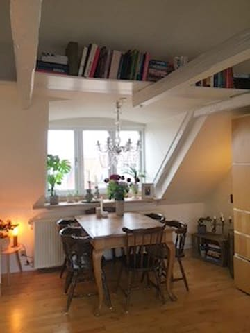 Charming apartment in the heart of Aarhus City