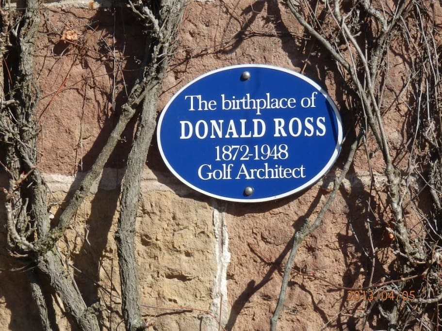 Birthplace of Donald Ross
