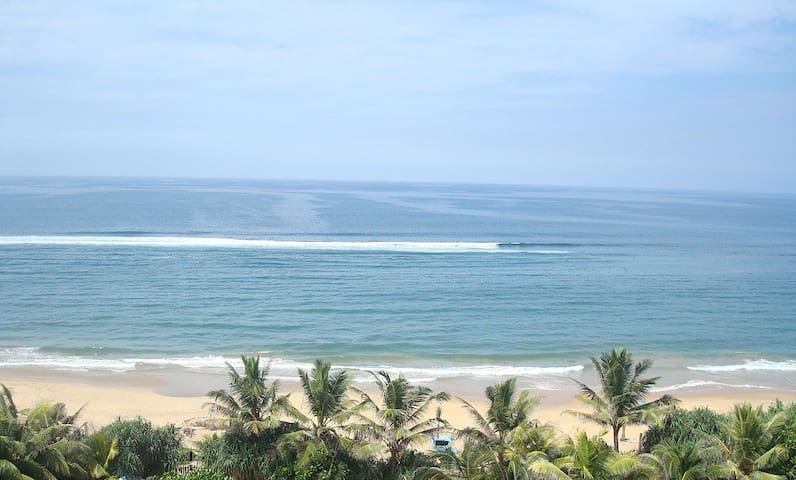 Beach Apartment with Beautiful Ocean View- Colombo - Colombo - Byt