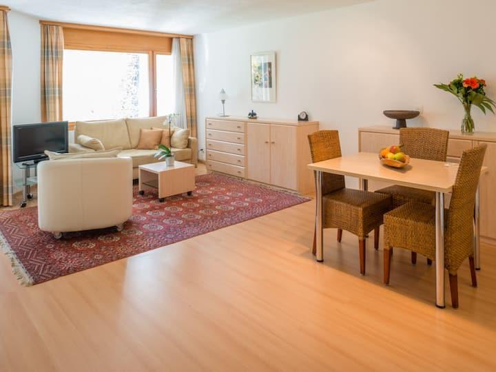 Edelweiss Ferienwohnung, Gion d'Eva, Casa Erizun, E2, (Flims Waldhaus), 6026, 1.0 room apartment