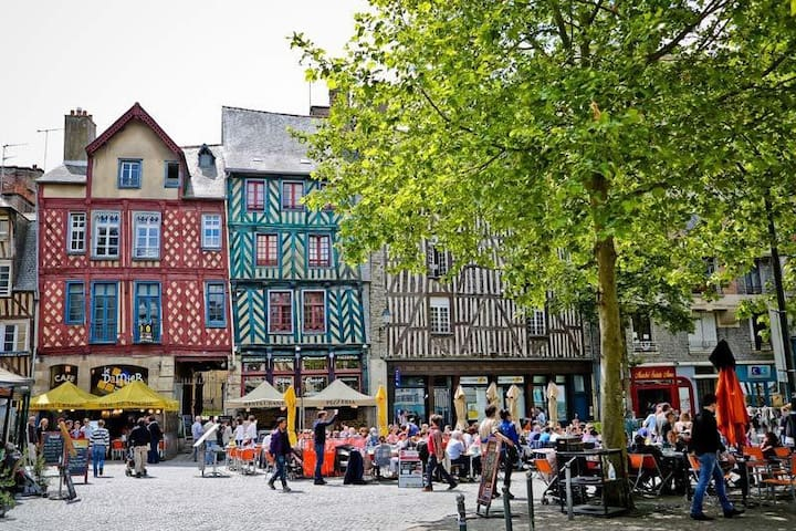Top 20 des locations de vacances rennes locations for Location appartement atypique rennes