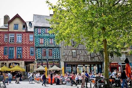 2 pièces lumineux & calme dans l'hyper centre - Rennes - Apartemen