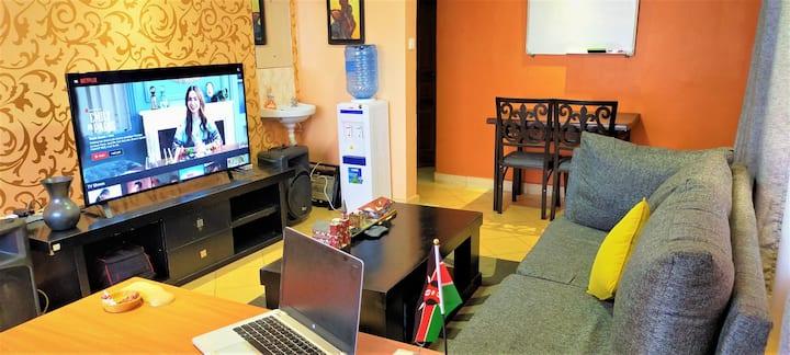 Thika Road Executive GetAway, Free Wi-Fi & Netflix