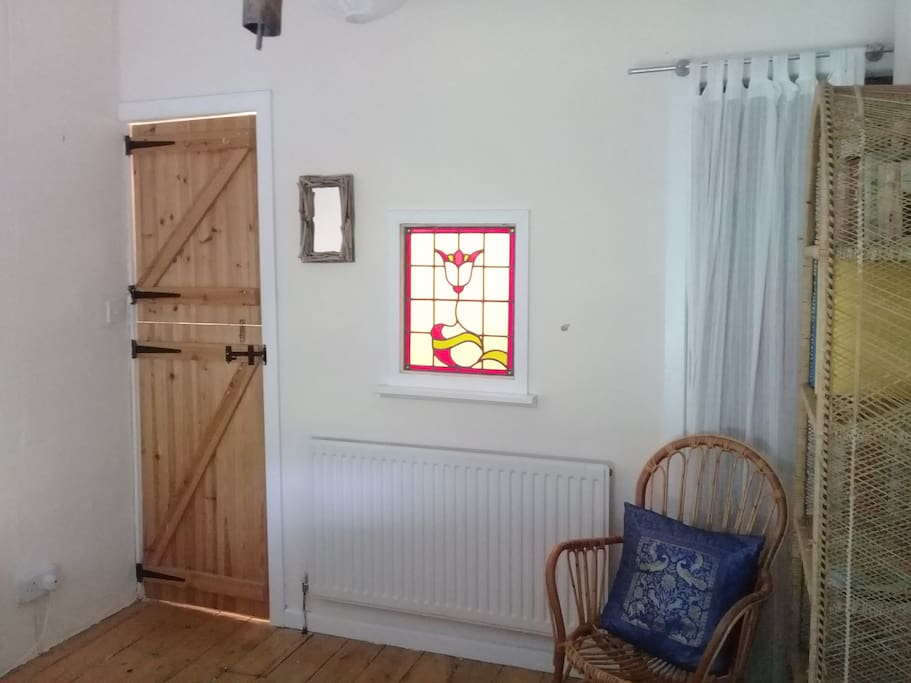 Stained glass window in your room!