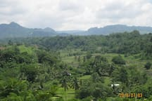 Mt. Natib mountain range
