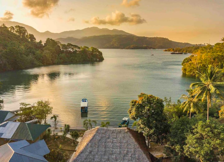 Natural Hidden Resort in Lembeh!!