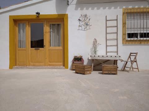 Apartamento rural en el centro de Sierra Espuña