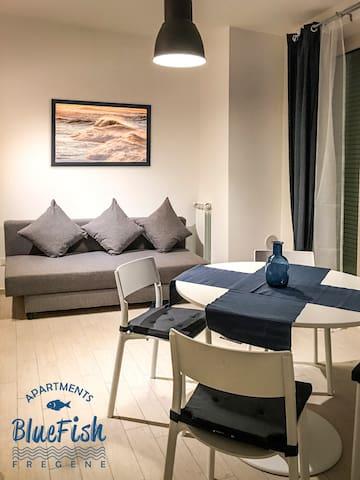 Blue Fish 2 Fregene Fiumicino - Fregene - Apartamento