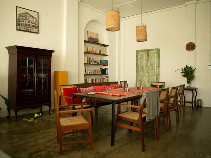 Loft Style Apartment in heart of Downtown Yangon