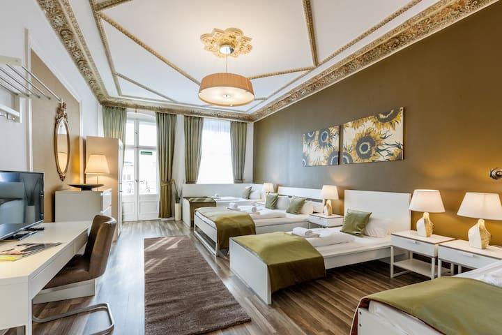 Akazien Residenz Apartment Berlin - 160 QM/ Balkon