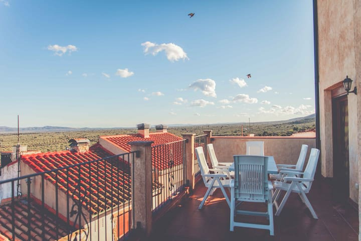 Tercer piso con terraza - Mas de Barberans - Leilighet