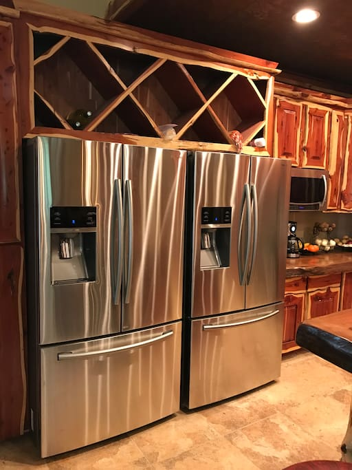 Two Refrigerators for your Stuff.....
