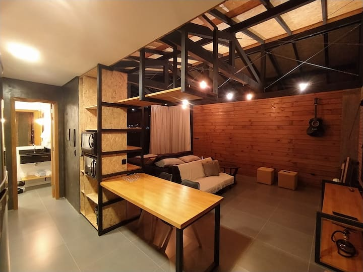 Casa / loft Itapema aconchegante