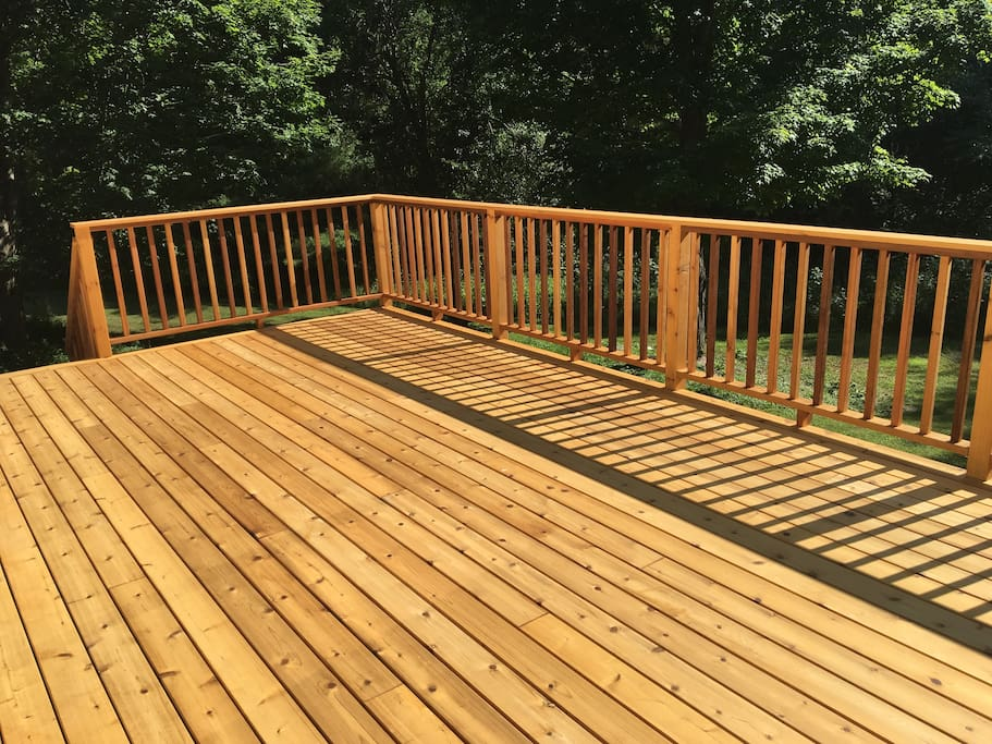 our new deck!