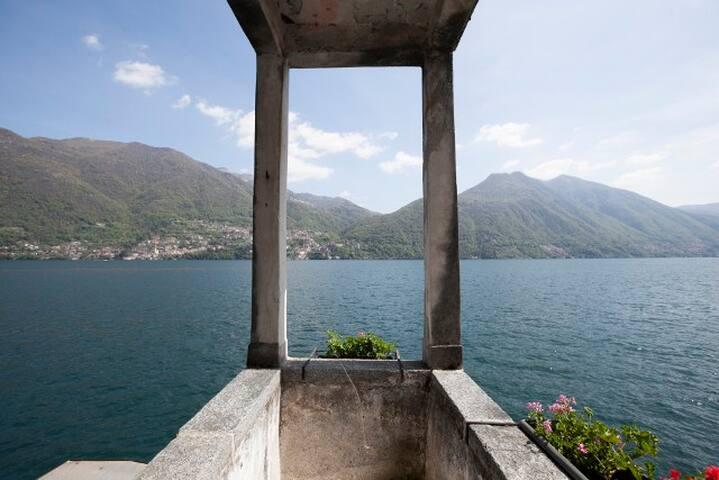 Apartment Overlooking Lake Como - Brienno