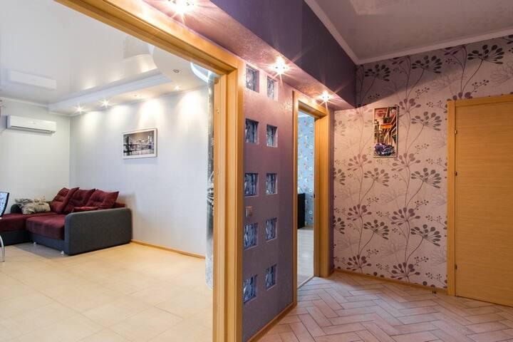3-х комнатные апартаменты рядом с пр.Гагарина