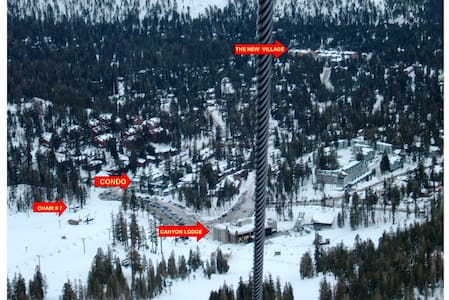 Ski-In BEST Location Period! Rare Find 2 King Bds - Mammoth Lakes - Wohnung