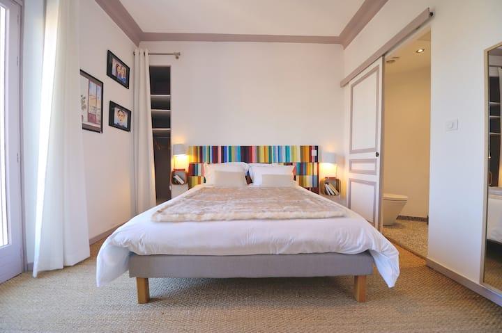 Villa du Roc Fleuri CANNES: Chambre 3 double