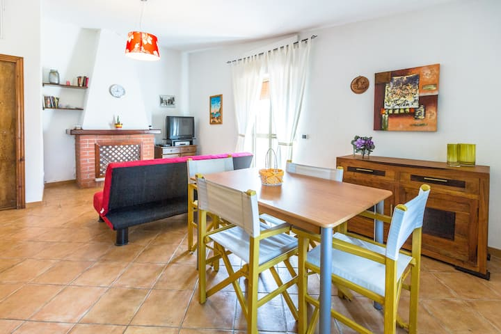 Comfortable house 2 km from the sea