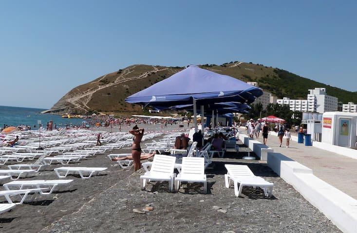 Квартира у Чёрного моря на летний сезон. - Sukko - Flat