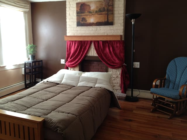private entire floor, close to NYC - Jersey City - Rumah