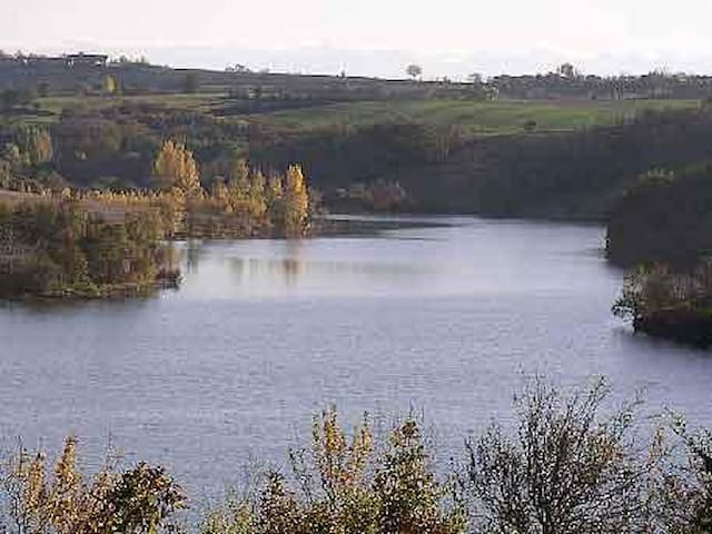 Un coin de paradis au lac - Nailloux - Huis