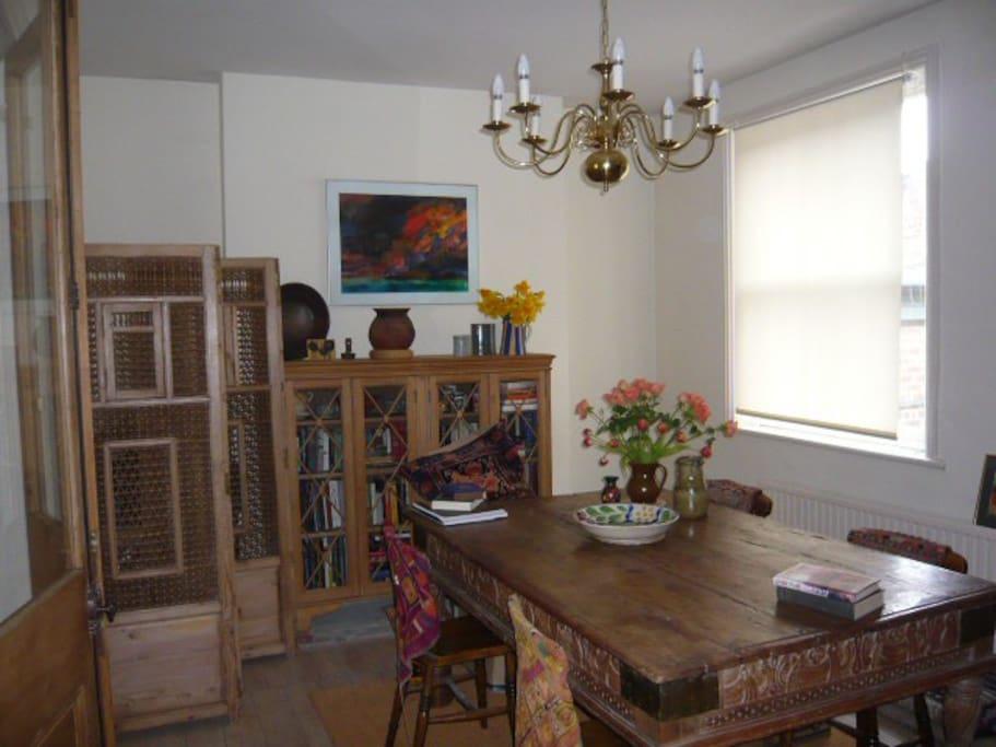 Kilim Room Quiet Town Centre House