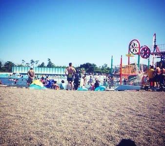 海の部屋 蓮沼海浜公園 九十九里浜 - Sanmu-shi