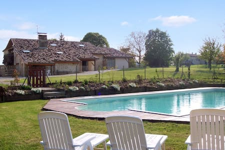 Country house with large pool - Agnac