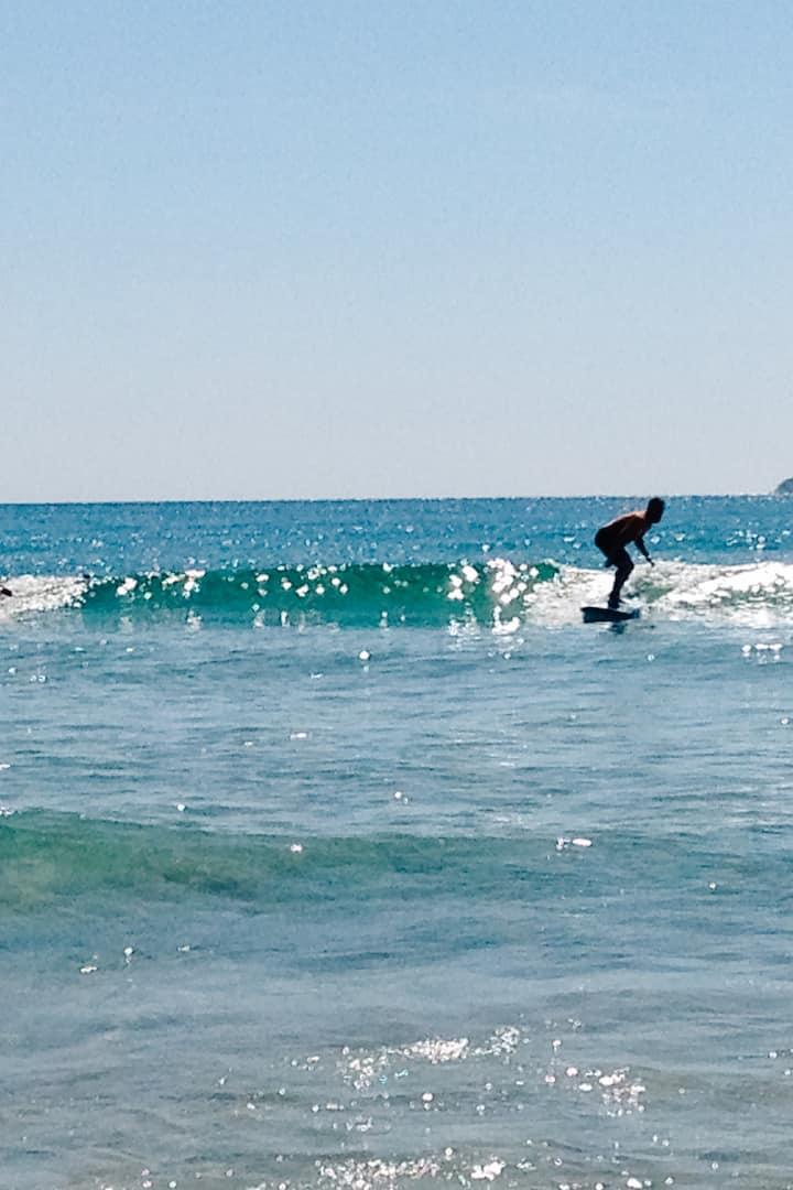 Ondas perfeitas para surfar