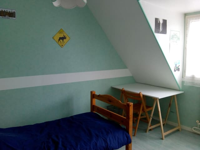 Chambres (réservée aux femmes)